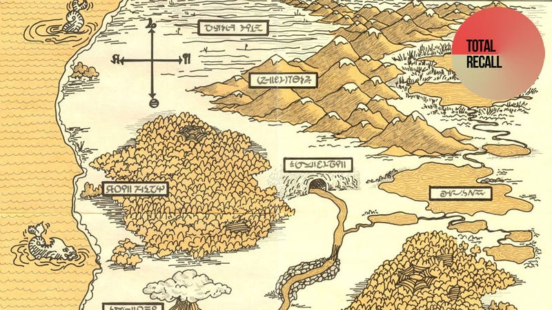 The Delightful Home-Made Maps of the Zork Series