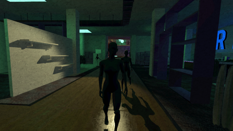 Illustration for article titled Mannequins Slowly Stalk You In Creepy New Horror Game