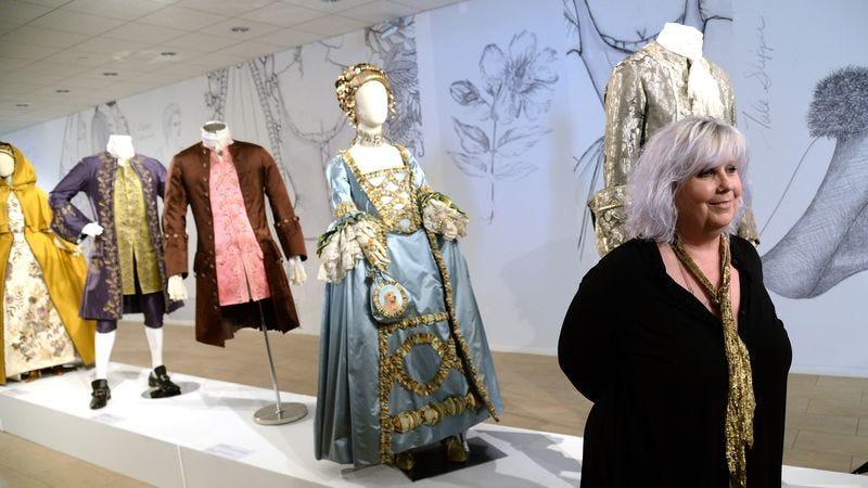 Outlander s costume designer on her job in the women s Wedding dress design jobs