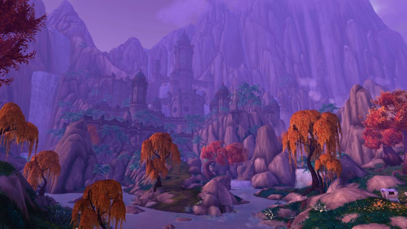 Illustration for article titled Suramar, World of Warcraft: Legion's New Zone, Looks Stunning