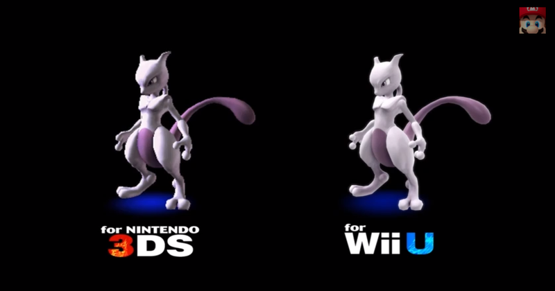 Illustration for article titled Mewtwo Returns To The New Smash Bros. As A Downloadable Character