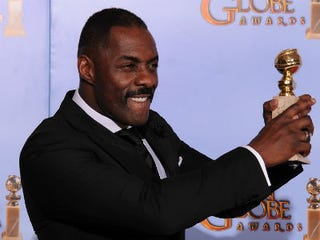 Idris Elba at the Golden Globe Awards (Getty Images)