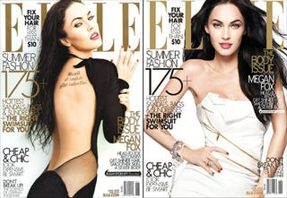 Illustration for article titled Elle: The 'Body Issue' Has Major Body Issues, Scantily Clad Megan Fox
