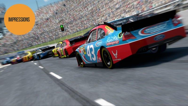 Illustration for article titled Inside Line Still Finds a Hard Left in NASCAR Country