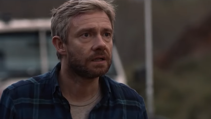 Martin Freeman's got 48 hours till zombification in Cargo.
