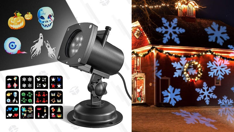 OxyLED Holiday Projector Light | $24 | Amazon | Promo code 8LU737N2