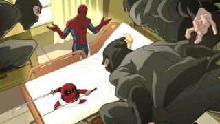 Illustration for article titled Avengers Assemble kicks off & Deadpool crashes Ultimate Spider-Man