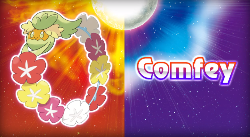 Illustration for article titled PokémonSun and Moon's Newest Monster Is Literally A Lei
