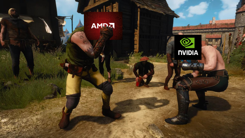 Illustration for article titled Nvidia And AMD Are At Each Other's Throats Again