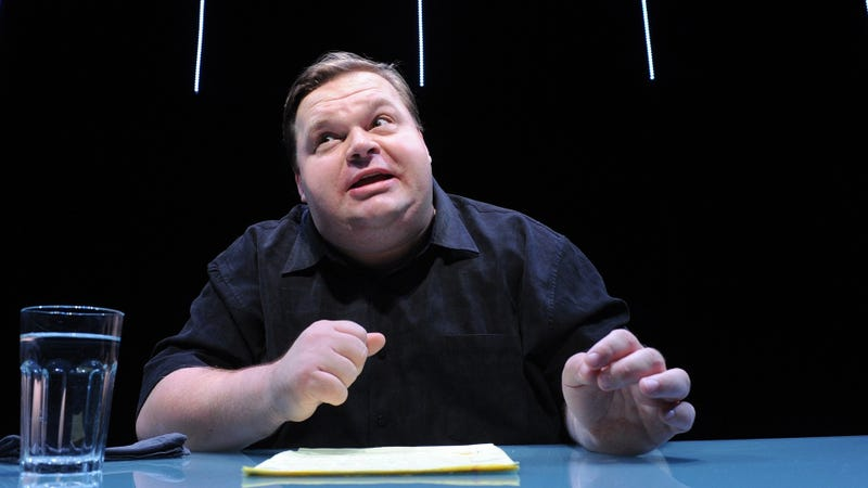 Illustration for article titled Mike Daisey's Fabrications Are Now His Wife's Fault