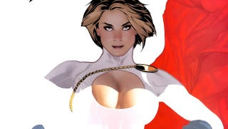 Illustration for article titled Here Is The Male Version Of Power Girl's Boob Window (NSFW)