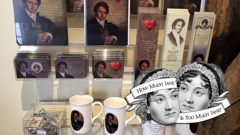 Illustration for article titled Tea Cozies, Tote Bags and Colin Firth: The Thriving Jane Austen Souvenir Economy