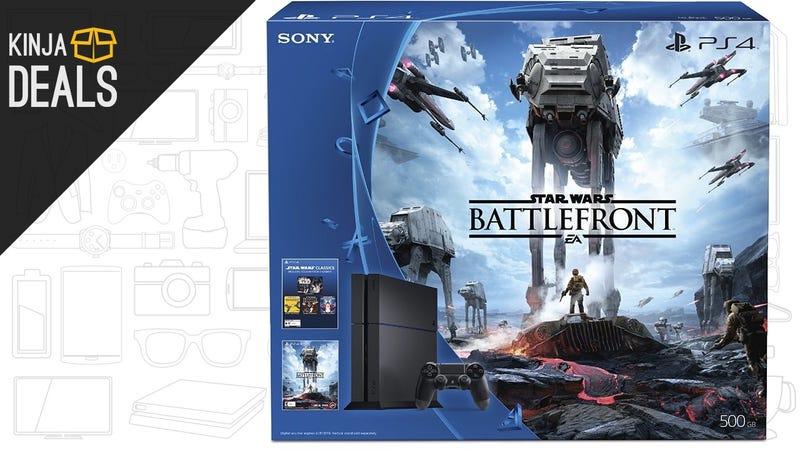 Illustration for article titled Save $50 On the PS4 Battlefront Bundle