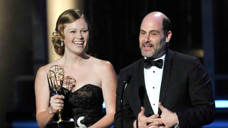 Kater Gordon and Matthew Weiner at the 61st Primetime Emmy Awards in 2009.