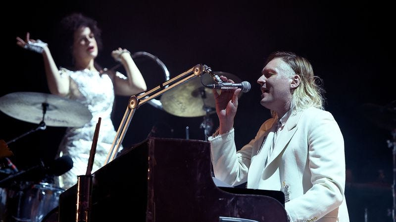 Arcade Fire (Photo: Getty Images/Theo Wargo)