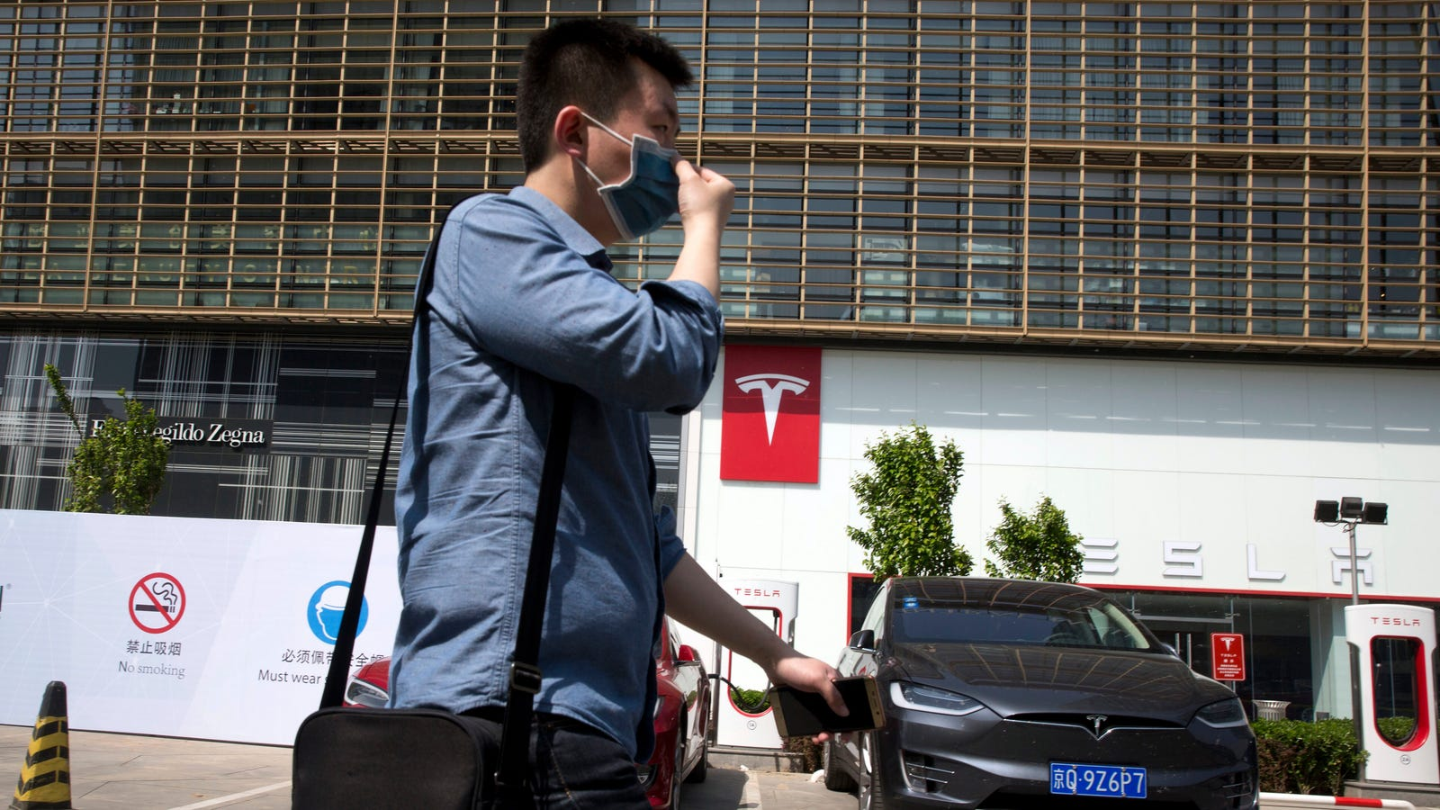 photo image Tesla Will Open an Electric Vehicle Plant in Shanghai's Free Trade Zone