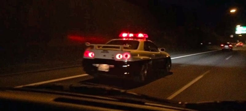 The Legendary Nissan Skyline GT-R Cop Car Is Still Out There Nailing ...