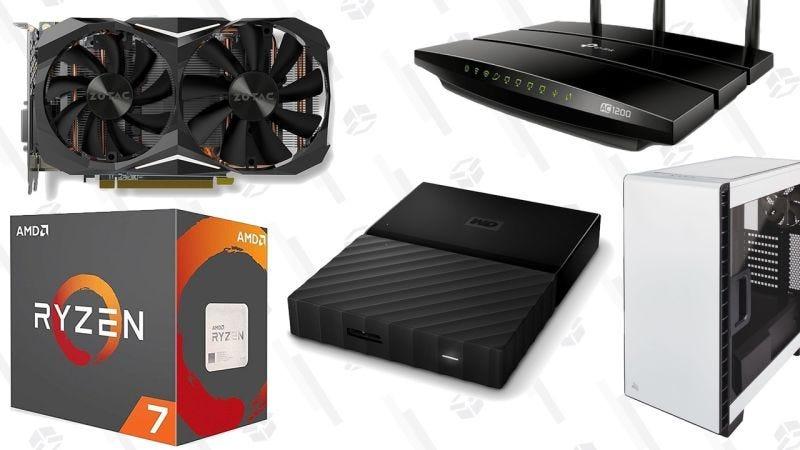 Rebajas de accesorios para PC | AmazonGráfico: Shep McAllister