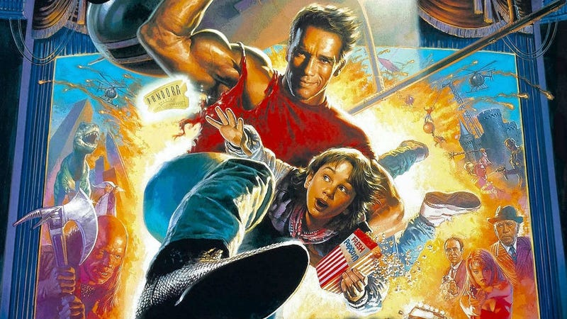 The poster for Last Action Hero.
