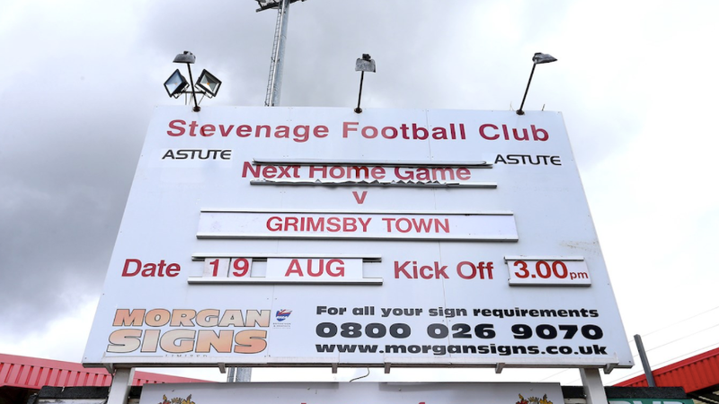 Photo: Stevenage FC