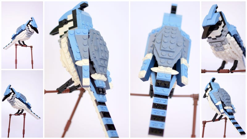 Illustration for article titled These beautiful Lego birds available soon!