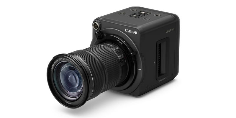Illustration for article titled Canon's New Camera Sees More In the Dark Than You Ever Thought Possible