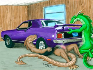 Illustration for article titled Commenter of the Day: Detroit Auto Show Dragons Edition