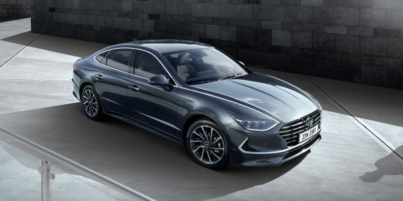 Illustration for article titled Here's the 2020 Hyundai Sonata