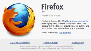 Illustration for article titled Firefox 4.0 Final Available for Download Now, Official Release Coming Tomorrow