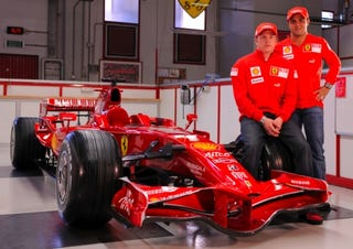 Illustration for article titled More Whistles, Fewer Bells: Ferrari Premieres 2008 F1 Racecar