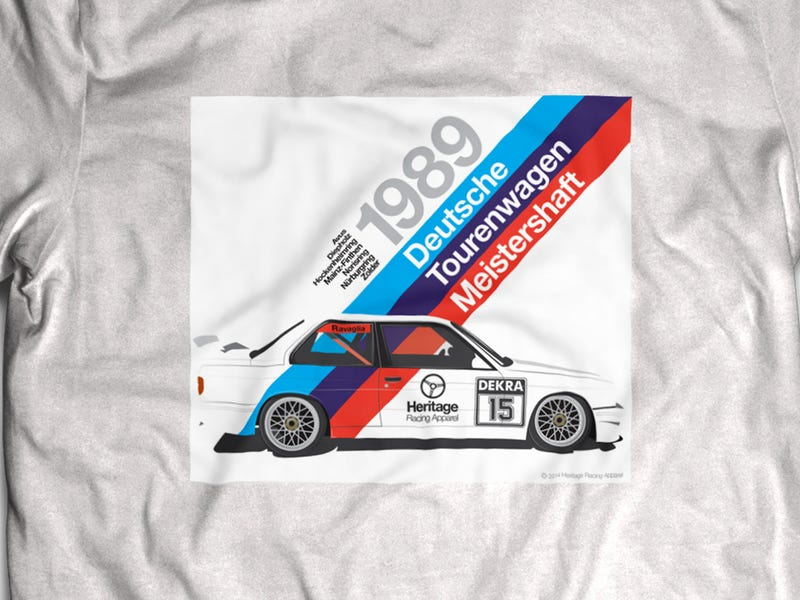 Illustration for article titled This Father-Son Gearhead Team Makes Kickass Racing T-Shirts