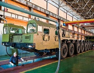 Illustration for article titled Russia's New Nuclear Missile-Carrying 16-Wheelers