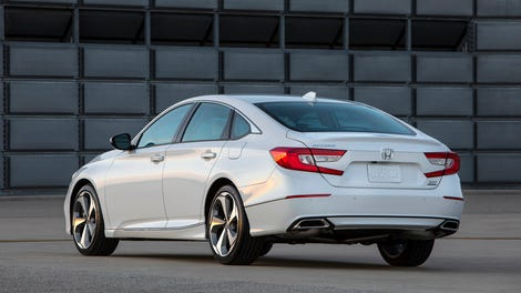 The 2018 Honda Accord Is A Manual Fastback
