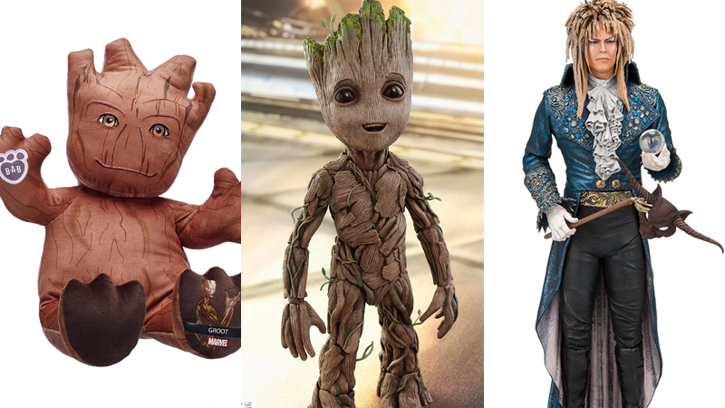 Illustration for article titled One Great Groot, and One Creepy One, in the Best Toys We've Seen This Week
