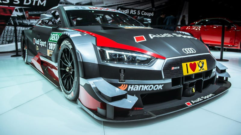 Illustration for article titled GENEVA 2017: I'm having a hard time wrapping my head around the '17-spec Audi RS5 DTM
