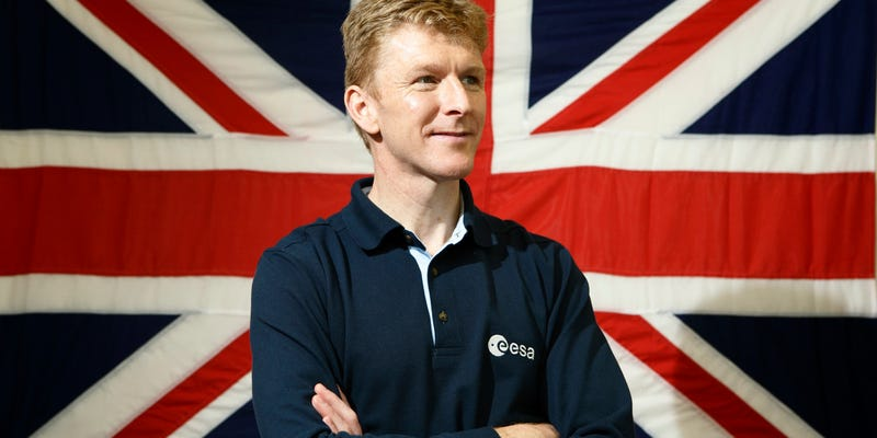 Illustration for article titled British Astronaut Tim Peake Is Going to Run a Marathon—in Space