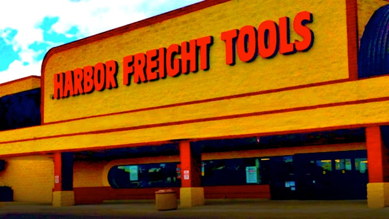 Illustration for article titled I Love You Harbor Freight, But You Smell Like Plastic Hell