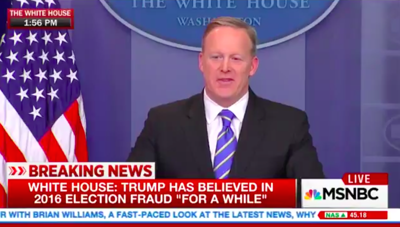 Screenshot via MSNBC.
