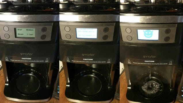This Hacked Coffee Maker Demands Ransom and Demonstrates a Terrifying Implication About the IoT