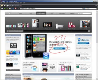 Illustration for article titled iTunes 8 Release Candidate Is a Fake