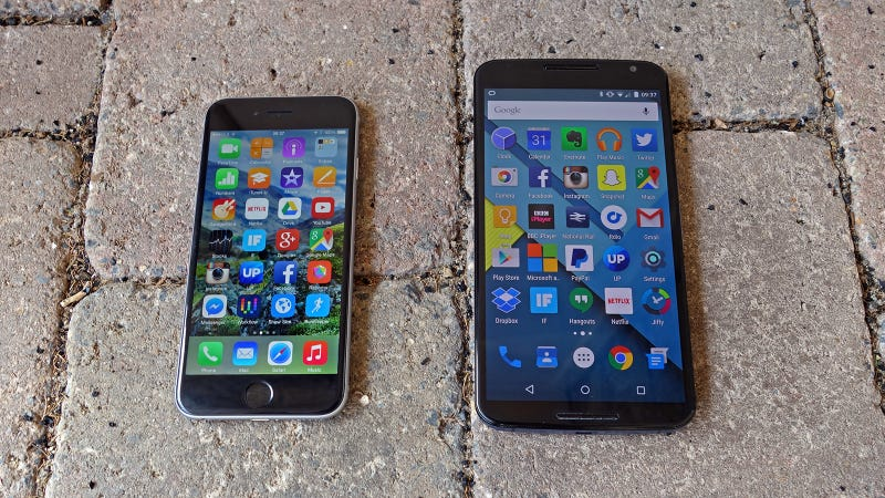 iOS vs Android: The 2015 Edition