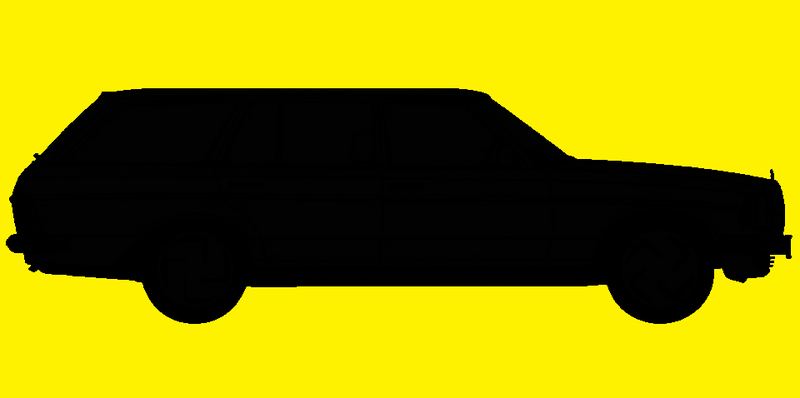Illustration for article titled Here's a W123 silhouette