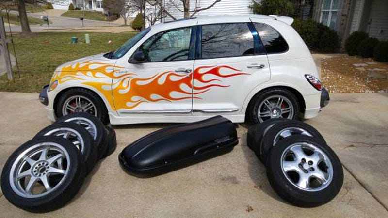 for 5 900 this 2002 chrysler pt cruiser could be your supercharged retro rocker. Black Bedroom Furniture Sets. Home Design Ideas