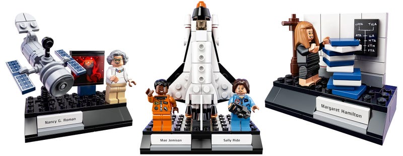 Illustration for article titled Lego's Cool Women of NASA Set Is Coming—But It Doesn't Include the Hidden FiguresHeroine as Originally Hoped