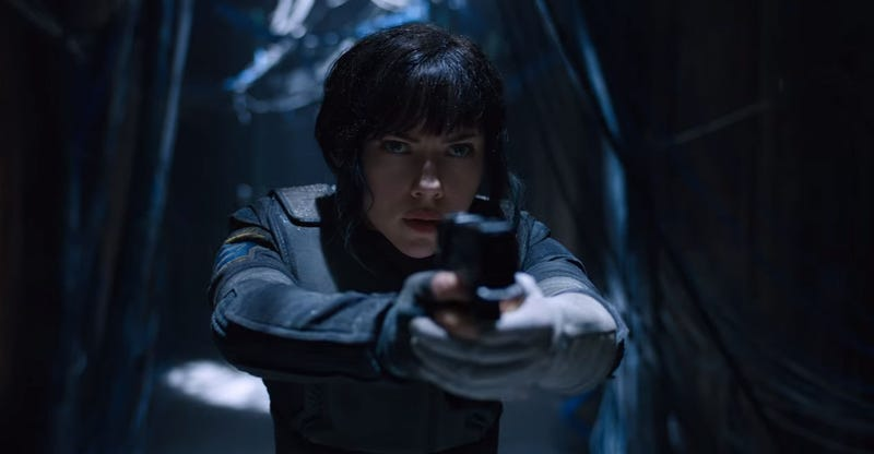 Illustration for article titled Here Are The First Trailers For The Ghost In The Shell Movie