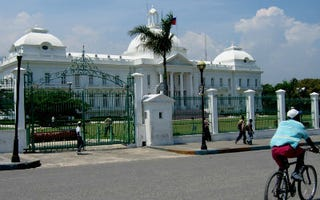 Haitian presidential palace (Creative Commons/Flickr/mweriksson)