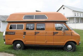 Illustration for article titled Napoleon Dynamite's Uncle Rico Selling Van On Ebay, Sweet!