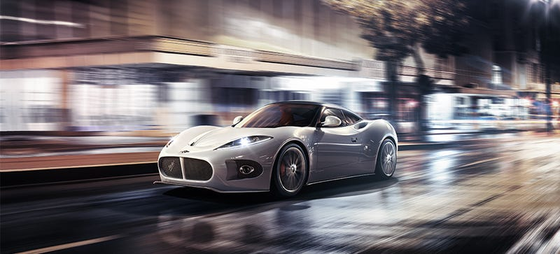 Illustration for article titled Your Ridiculously Awesome Spyker B6 Venator Wallpaper Is Here