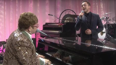 What's your favorite use of an Elton John song in pop culture?