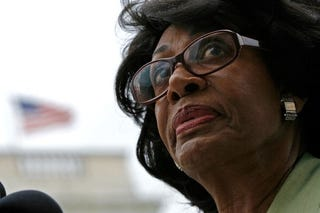 Embattled Congresswoman Maxine Waters